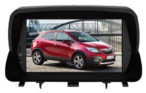 Магнитола  PHANTOM DVM-1220G iS (Opel Mokka) в штатное место Opel